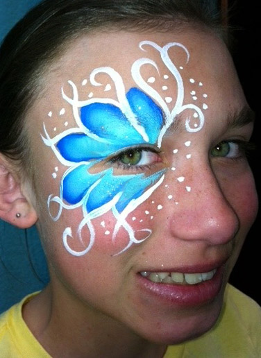 Face Painting Eye Design